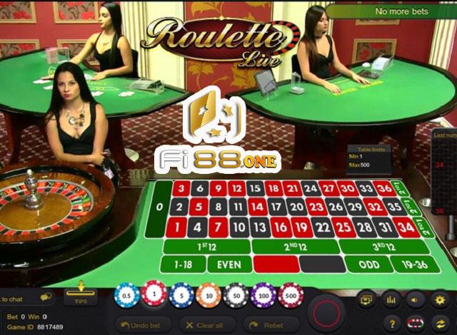 Roulette tại Fi88 luôn được mọi người yêu thích